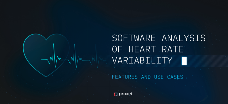 Software Analysis of Heart Rate Variability: Features and Use Cases